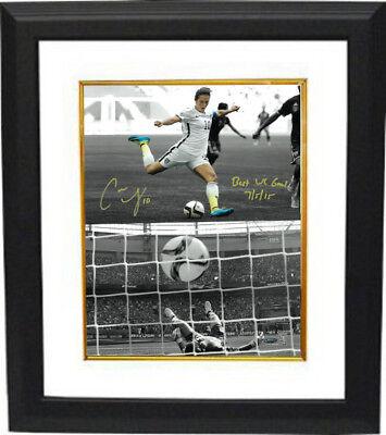 Carli Lloyd signed 2015 World Cup 16x20 Photo Framed Best WC Goal 7/5/15 (Best World Cup Jerseys)