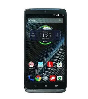Motorola Moto Droid Turbo XT1254BN 32GB GSM Verizon Unlocked Grey Blue Accents