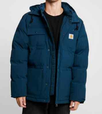 Chaqueta Hombre Carhartt Alpine Abrigo ( Duck Azul / Negro) Talla XL...
