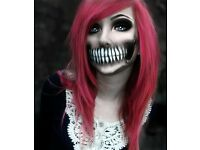 Halloween Party makeup £15