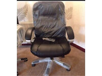 DELUXE OFFICE HEATED MASSAGE CHAIR