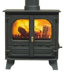 7-8kw Multi-Fuel Burning Stove with backboiler