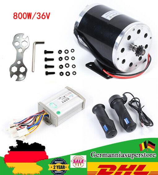 Elektro Motor 36V 800W 2750RPM Für  E-Scooter Bürstenmotor Go-Kart Motor