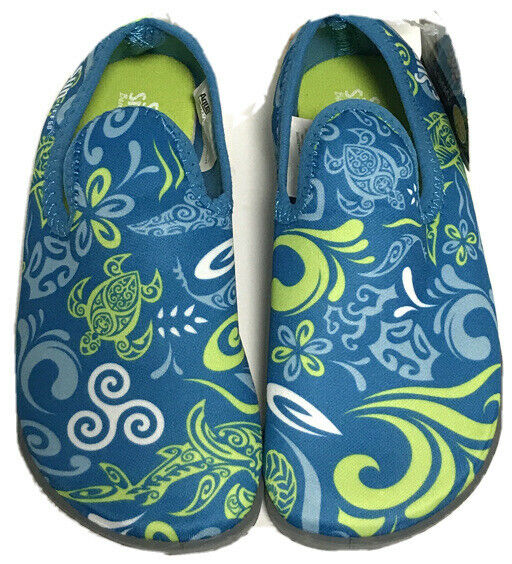 Sun Smart Hi-Top Water Shoes Unisex Child Boy Girl M 7-8