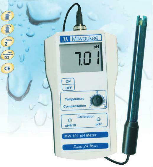 MW101 PH Meter - Milwaukee Instruments