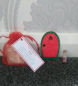 Elf/fairy door, magic dust and reindeer food