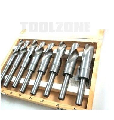 Toolzone Blacksmith 8pc 14 -25mm High Speed Steel (HSS) Twist Drill Set (Tool)