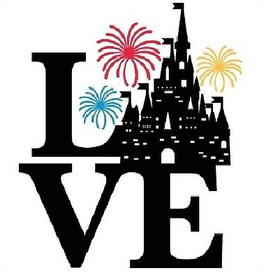 Love Disney Castle Family 2019 Vacation Iron On T Shirt Fabric Transfer #6798