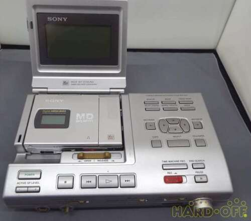 SONY Portable MD recorder  MZS-R5ST F/S in good condition From Japan