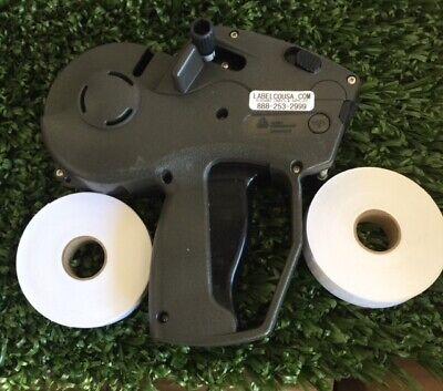 Monarch 1131-01 Price Gun 1 Line New 2 Rolls Wht Labels Inkfree Freight