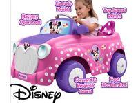 Mini Mouse Powered Car