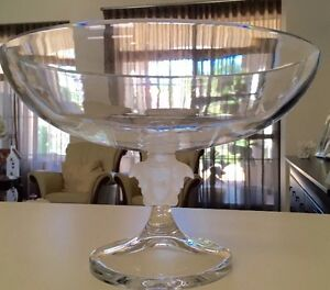 Versace medusa Lumeire footed bowl fruit bowl crystal Carindale Brisbane South East Preview