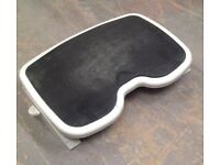Adjustable Grey and Black Under Desk Footrest