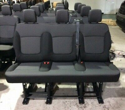 Row 3 Folding Vauxhall Vivaro / Renault Trafic Rear Seats - NEW