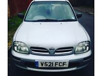 Micra AUTOMATIC 10month Mot 12Month tax low milage lady owner