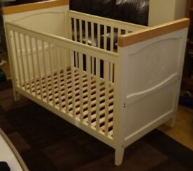 Mothercare humphries corner cot bed