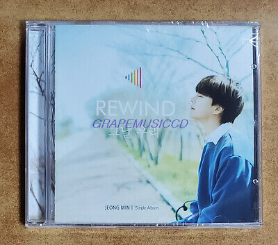 JUNGMIN JUNG MIN BOYFRIEND Rewind SINGLE ALBUM K-POP CD SEALED