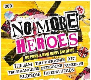 Various - No More Heroes: 60 Punk & New Wave Anthems (2015) NEW 3CS