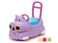 Kids' chair, seat and Hippo walker - GBP 20 each