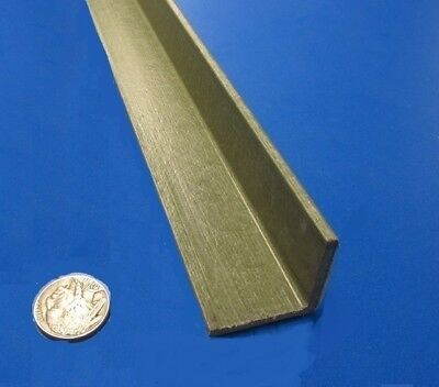 Fiberglass 90 Angles Olive .125 Thickness X 1.25 Arms X 60 Length