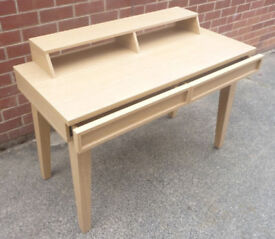 Oak Effect Rectangular Side Table with Drawers