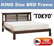 KING BED FRAME - **Brand New** Solid N.Z. Pine - DELIVERED FREE New Farm Brisbane North East Preview