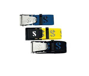 Scubapro-Cinturon-de-lastre-con-Inox-hebilla-div-Colores