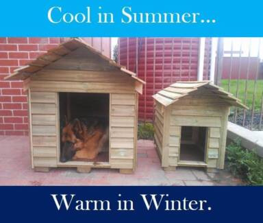 New XL Wooden Kennels! Warm in Winter, Cool in Summer Geelong 3220 Geelong City Preview