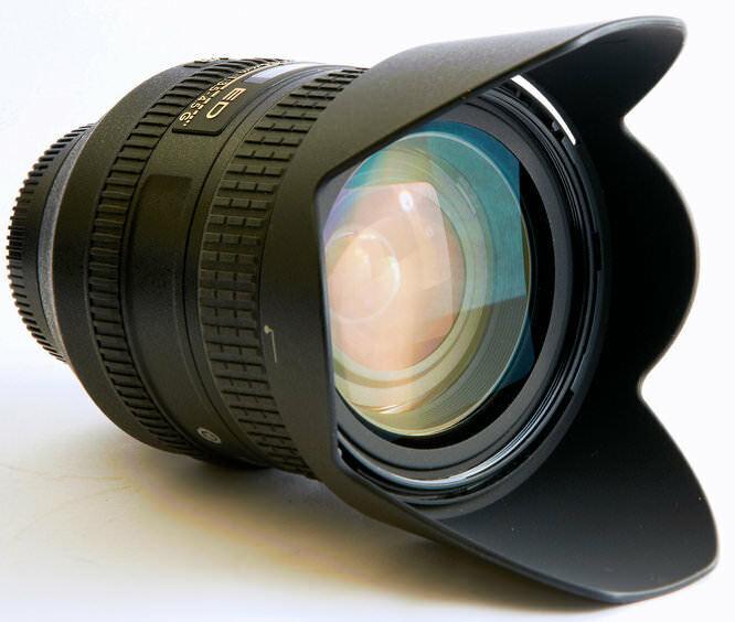 Nikon Zoom-NIkkor 24-85mm F/3.5-4.5 AF-S VR IF ED G Lens - Hoya 72mm UV Filter - $325.00