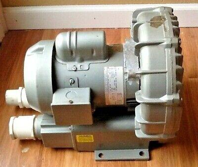 Gast R4410-2 Regenerative Ring Air Blower Vacuum Pump 115208-230v Phase 1
