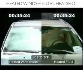 HEAT SHOT heated-windscreen-washer-system 12 Volt fits any car van bus etc BRAND NEW BOXED