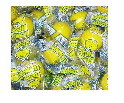 LEMONHEADS - Ferrara Pan - Lemon Hard Candy - Wrapped - 1/2 to 10 LBS
