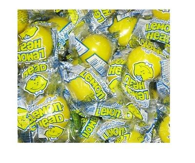 LEMONHEADS - Ferrara Pan - Lemon Flavored Hard Candy - Wrapped - 15 Pieces -BULK](Ferrara Pan Candy)