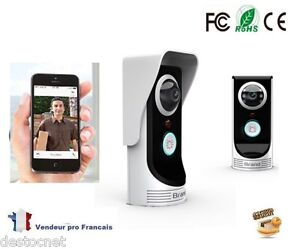 interphone visiophone portier wifi cam ra smartphone. Black Bedroom Furniture Sets. Home Design Ideas