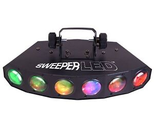 CHAUVET SWEEPER LED DJ Dance Effect Stage Light Beam - 8 Channel DMX w/ Sound
