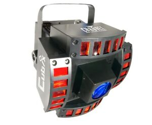 NEW CHAUVET CUBIX 6 Ch. LED DJ Disco Dance Effect Light