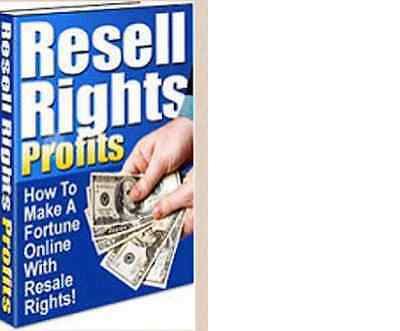 WOW.Learn To Make Money With Resale Rights Profits(eBook/PDF file)