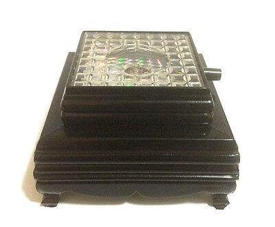 3D Crystal Glass Trophy Laser 3 LED Battery Light Up Stand Base Display 2