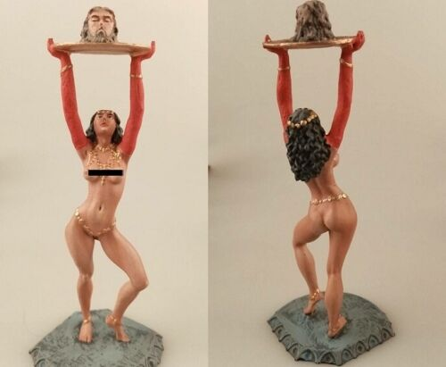 tin toy soldiers  painted  Girl 80mm Salome