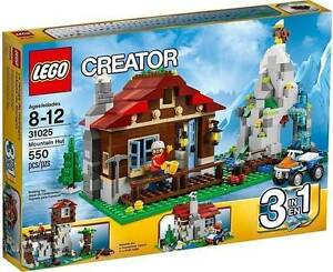 Lego 31025 Mountain Hut 3-in-1 (Brand New) RETIRED SET Mundoolun Logan Area Preview