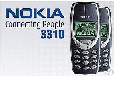 Telefono Cellulare NOKIA 3310 TELEFONINO NUOVO CON GARANZIA 12 MESI! IN ITALIA