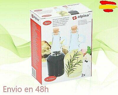JUEGO ACEITERA Y VINAGRERA ALPINA DIM7 X 18MCS ALTURA ref:29537