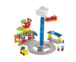 Fisher Price Little people Spinnin Sounds Airport
