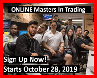 Master In Trading Course - Starts October 28, 2019
