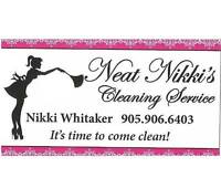 NEAT NIKKI'S CLEANING SERVICE