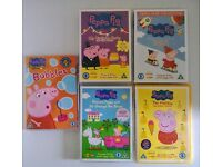 Peppa Pig DVD bundle