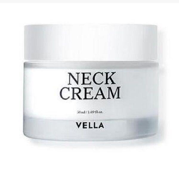 Vella NECK CREAM 50ml NIB Neck Wrinkles AntiAging K-Beauty Korean Cosmetic