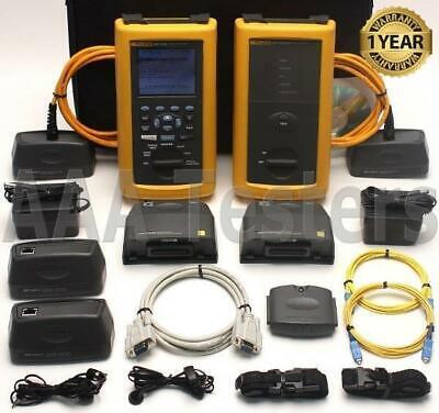 Fluke Dsp-4000 Cat6 Sm Fiber Cable Tester Fta430 Dsp-fta430 Dsp4000 Dsp 4000 Fta