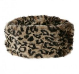 Dubarry Fur Headband (Leopard)