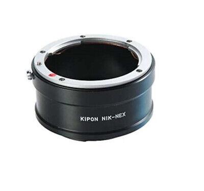 Kipon Nik-Nex Adaptador Nikon F Objetivo Para sony Nex Cámara